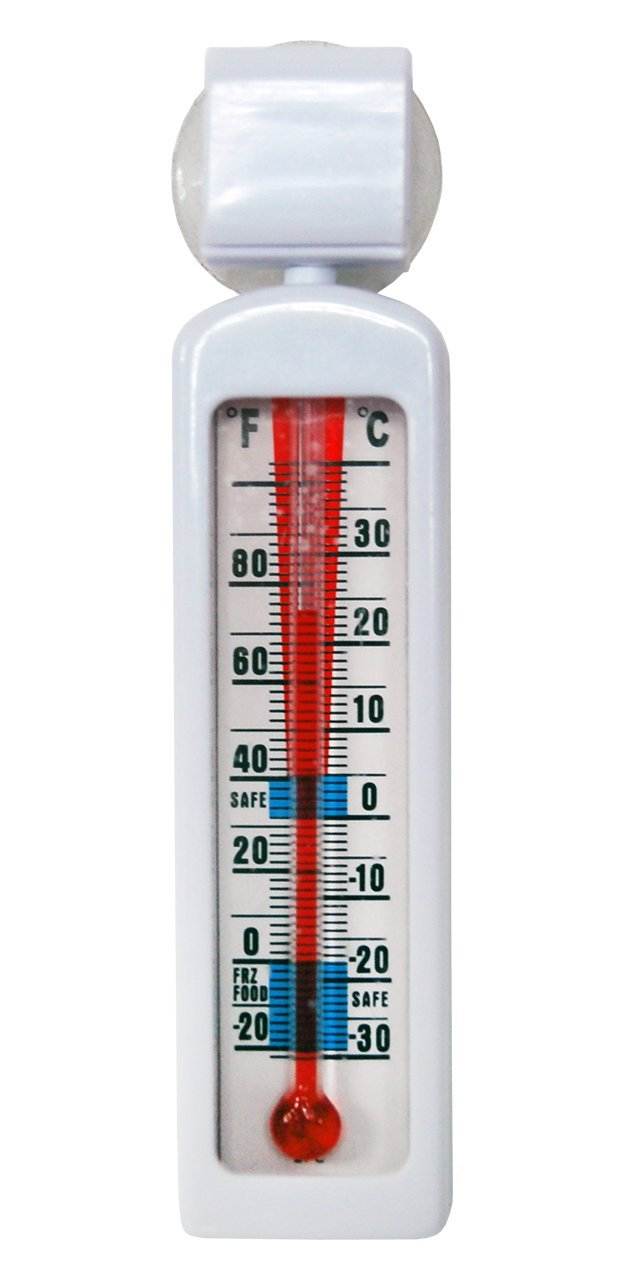 DayMark Hanging Refrigerator/Freezer Thermometer (Pack of 2)