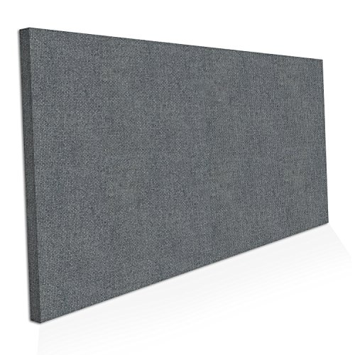 "ADW Acoustic Panels 48"" X 24"" X 2"" Rectangle – Quick Easy DIY Install – See Our Many Color Choices"