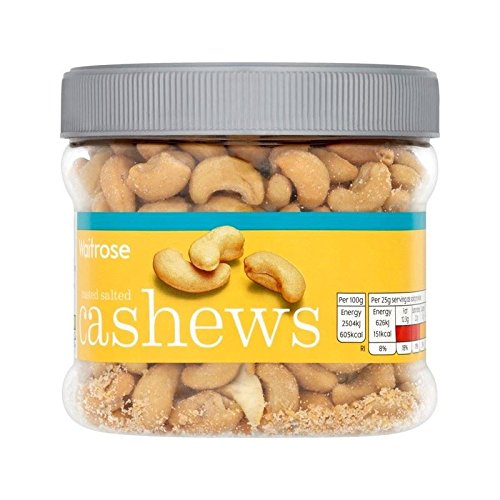 Salted Cashews Tub Waitrose 400g - Pack of 6