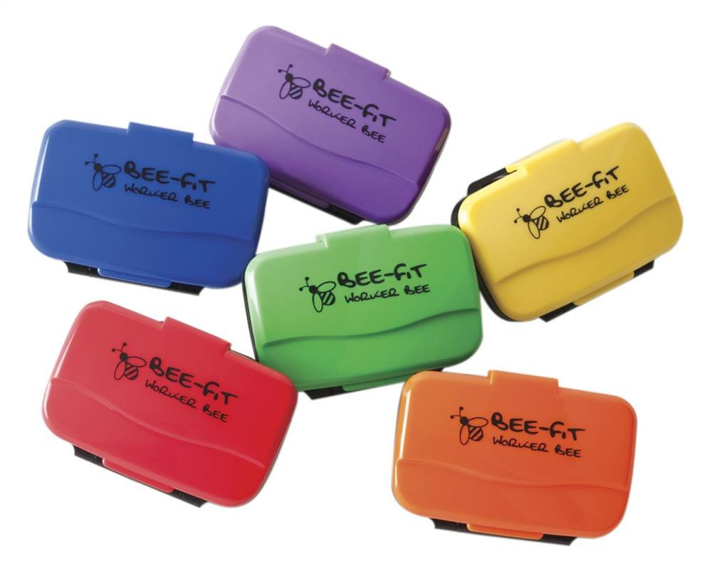 6-Pc Worker Bee Pedometer Prism Pack
