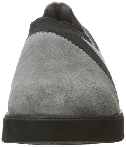 Clarks Damen Bellevue Cedar Slipper Grau (Grey Suede)