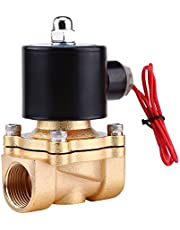 """Magneetventiel, 3/4""""AC 220V NC elektrisch magneetventiel met behuizing van zinklegering, elektrisch magneetventiel voor water, olie, lucht, gas"""