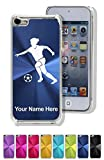 Case For Iphone 5C - Soccer Player Woman - Personalized Engraving Included