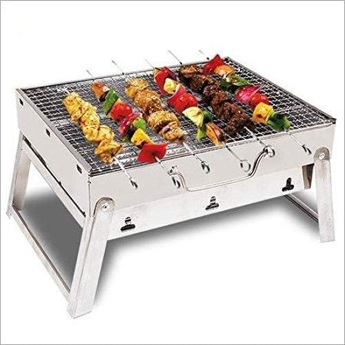 Kewei Barbecue portable réglable en acier inoxydable solide et stable facile à nettoyer