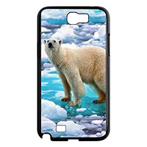 Polar Bear Samsung Galaxy N2 7100 Cell Phone Case Black gift W9591925
