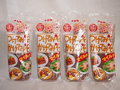 万能みそだれ マイルドつけてみそかけてみそ 焙煎ごま使用 ナカモ(愛知県)400g×4