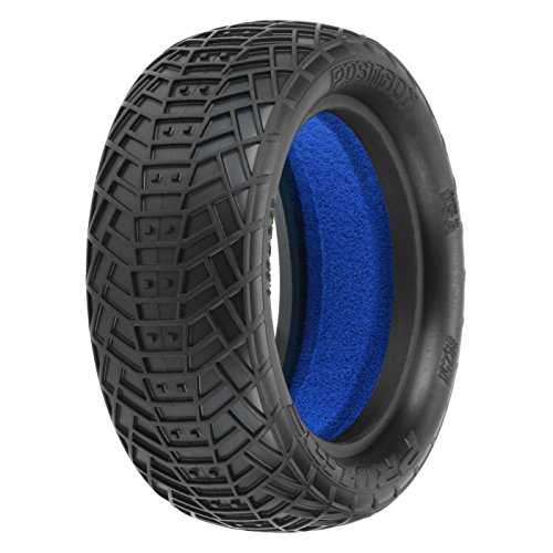 1/10 Front Positron 2.2 4WD MC Tires with Closed Cell Foam inserts: Off-Road Buggy (2)