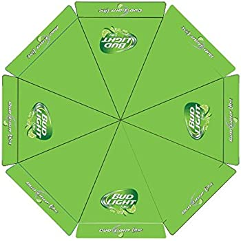 Bud Light Lime 9 Foot Beer PATIO UMBRELLA MARKET STYLE Budweiser NEW