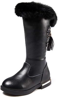 BININBOX Girls Knee High Boots Genuine