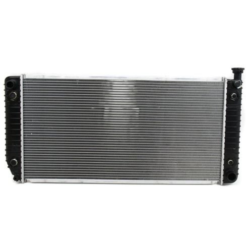 Perfect Fit Group P624 - C/ K Series P/U Radiator, 34X17, 2-Row Core, With Eoc'' by Perfect Fit Group