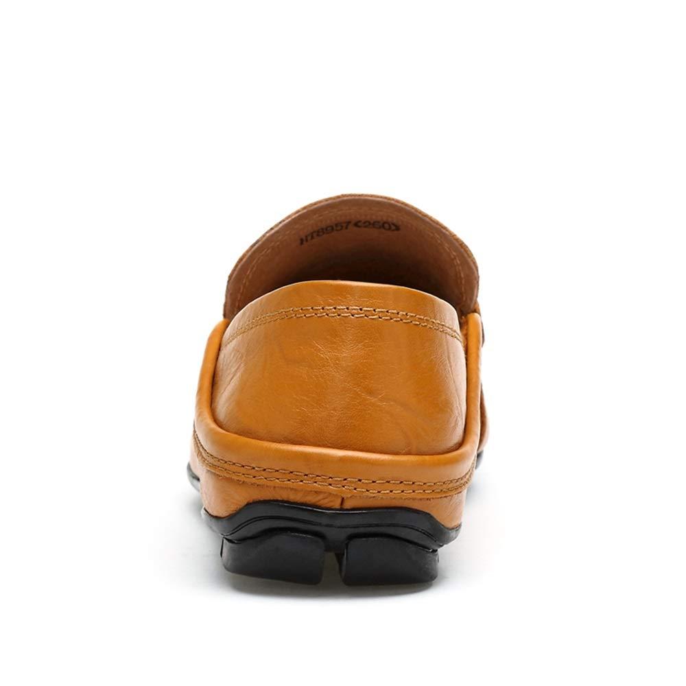 HYF HYF HYF Männer Oxford Schuhe Mode Fahren Müßiggänger Lässige Low-Top Slip On Einfarbig Stiefel Mokassins Lederschuhe Schuhe für Männer  ca2db8