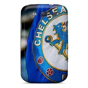 Samsung Galaxy S3 Uiu13346NfUY Allow Personal Design Lifelike Chelsea Fc Logo Image Best Hard Phone Case -ErleneRobinson