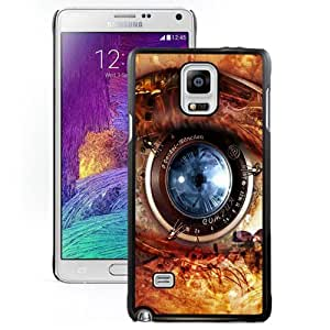 Fashion DIY Custom Designed Samsung Galaxy Note 4 Phone Case For HI Tech Camera Lens Eye Phone Case Cover