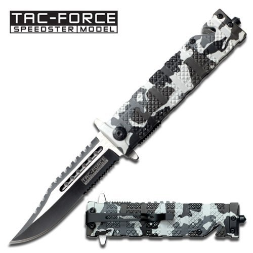 Tac Force TF-710DW Assisted Opening Folding Knife 5-Inch Closed, Outdoor Stuffs
