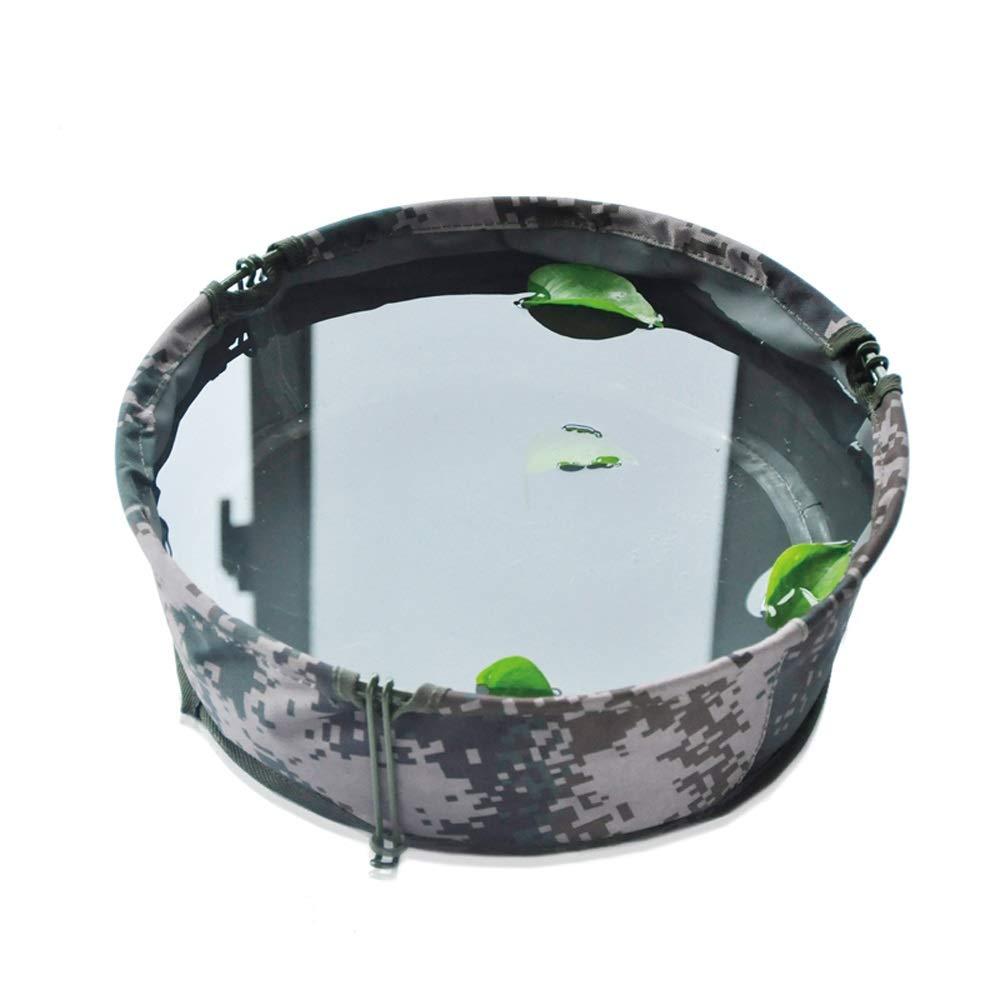 Miyabitors Folding Basin Washing Basin Outdoor Travel Fishing Portable Bucket Field Washbasin by Miyabitors