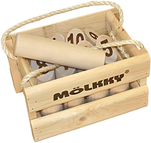 Tactic Games 52501 - Mölkky - Das Original Holzwurfspiel