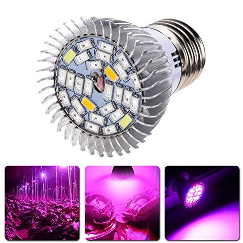 Arich 28W E27 Led Grow Light 100-240V Growing Lamp Graden Plant Hydroponic Light (Cheap Grow Lights 1000 Watt)