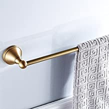 700Brass 24 Inch Towel Bar Design for Hotel/Motel/Home, Solid Brass, Antiqure Brass, Wall Mounted, Bathroom/Kitchen Hardware