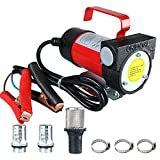Amarine-made 12 Volt Fuel Oil Transfer Pump Diesel Kerosene Biodiesel 12V DC 10.5 gpm 20-50 L/min Pump