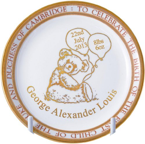 Caverswall Royal Baby 'Prince George of Cambridge' Sweet Dish