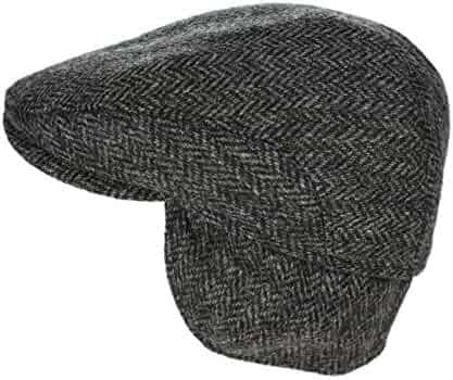 9425c9c41d8 John Hanly Men s Irish Flat Cap 100% Wool Tweed Ear Flap Made in Ireland
