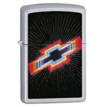 Chevy Chevrolet Style4 Zippo Outdoor Indoor Windproof Lighter Free Custom Personalized Engraved Message Permanent Lifetime Engraving on Backside