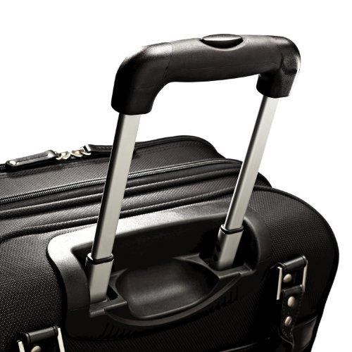 Samsonite Luggage Women's Spinner Mobile Office, Black, One Size