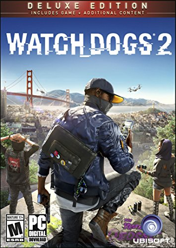 Watch Dogs 2: Deluxe Edition [Online Game Code] by Ubisoft