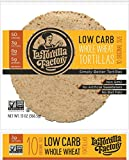 "7"" La Tortilla Factory Whole Wheat Low Carb Tortillas 13 oz - 10 count (Regular Size)"