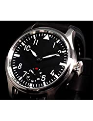 Parnis Luminous Men's Army Mechanical Hand Wind Watch M222s Seagull St3600 Movement by Parnis