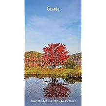 Canada 2018 Two Year Pocket Planner Calendar
