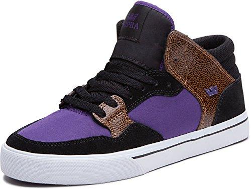 Supra Mid Shoe Shotgun Black Purple), EU 26