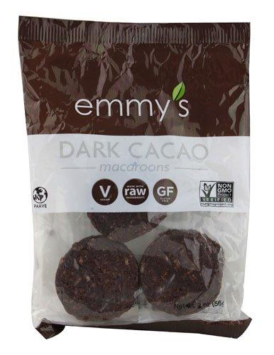 Emmy's Organics - Macaroons Dark Cacao - 2 oz (pack of 2)