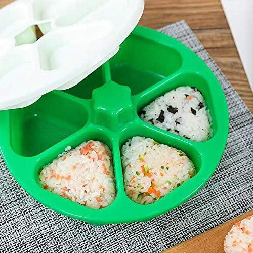 herramienta para hacer sushi arroz HDF DIY Sushi Forma de sushi para Onigiri fabricante Onigiri arroz forma de arroz