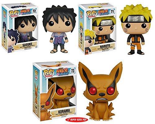 Pop! Anime: Naruto - Sasuke, Naruto and Kurama 6