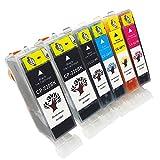 GREENSKY 6 Pack Compatible Ink Cart