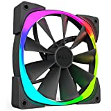 NZXT AER RGB140 Series 140 mm RGB LED Fan - Black
