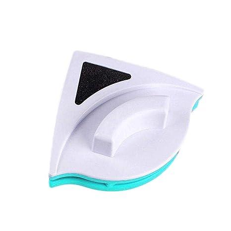 3 – 24 mm Limpiaparabrisas doble capa de cristal magnética ventana Vidrio limpieza raspador para el