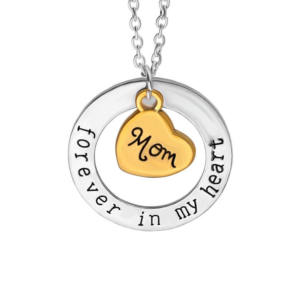 Gift for Parents Grandparents Families Pendant Necklace for family Forever in My Heart