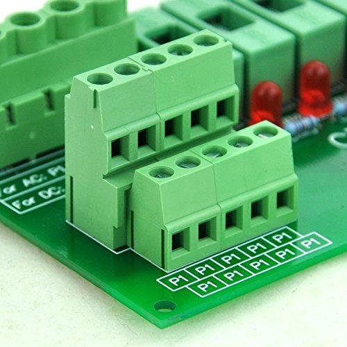 Electronics-Salon Panel Mount 10 Position Power Distribution Fuse Module Board, For AC110V . by Electronics-Salon (Image #6)