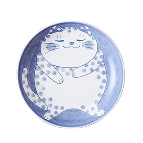 TTW Placas de cerámica Placas de Esmalte bandejas japonesas Platos ...