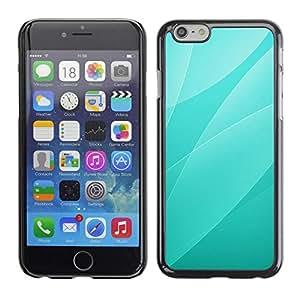 Be Good Phone Accessory // Dura Cáscara cubierta Protectora Caso Carcasa Funda de Protección para Apple Iphone 6 Plus 5.5 // Green Leaves Pattern