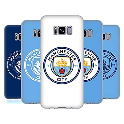 Official Manchester City Man City FC Badge Soft Gel Case for Samsung Galaxy S8
