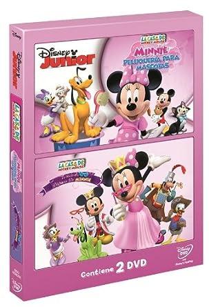 Pack Disney: El Baile De Disfraces De Minnie + Minnie. Peluquería Para Mascotas DVD: Amazon.es: Disney, Disney: Cine y Series TV