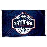 UConn Huskies 2014 Basketball Champions Flag Large 3x5