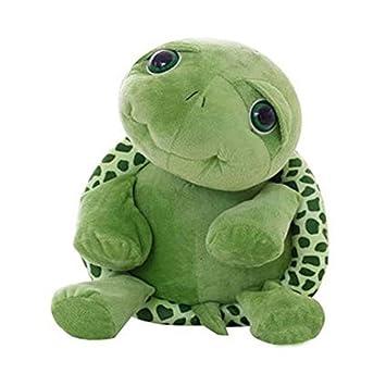 Dibujos Animados Felpa Verde Ojos Grandes Tortuga Tortuga ...