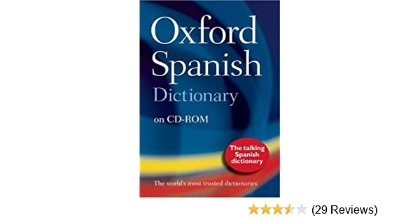 Amazon com: The Oxford Spanish Dictionary on CD-ROM: Windows