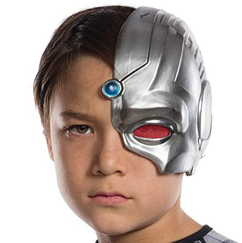 Child Size Justice League Cyborg 1/2 Mask - Robot - Costume Accessory]()