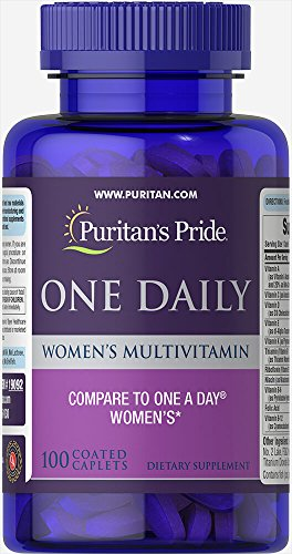 Puritan's Pride One Daily Women's Multivitamin-100 (One Caplets)