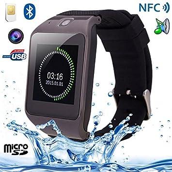 Montre connectée Smartwatch Android intelligente Caméra MP4 NFC Sport
